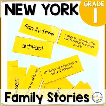 NYS Grade 1 Social Studies Inquiry: Family Stories