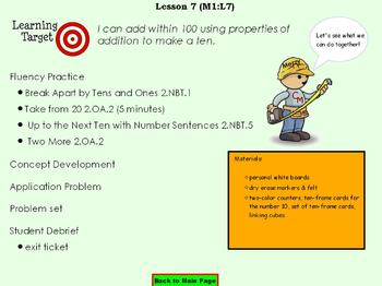 NYS Grade 2 Module 1 Topic C Lessons 6-8