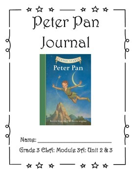 Peter Pan Student Journal (Units 2 & 3)