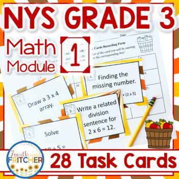 NYS Grade 3 Math Module 1 Task Cards