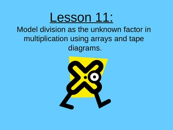 NYS Grade 3 Math Module 1, Topic D, Lessons 11-13 PowerPoints