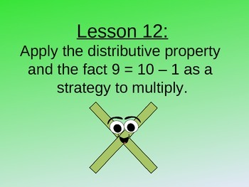 NYS Grade 3 Math Module 3, Topic D, Lessons 12-15 PowerPoint
