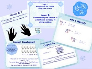 NYS Grade 3 Math Module 3 Topics C and D PowerPoint