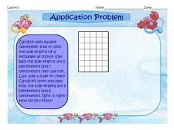NYS Grade 3 Math Module 4 Application Problems