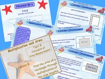 NYS Grade 3 Math Module 4 Topics A and B PowerPoints