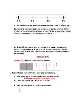 NYS Grade 3 Math Module 5 Review Sheets