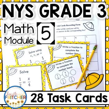 NYS Grade 3 Math Module 5 Task Cards