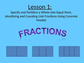 NYS Grade 3 Math Module 5, Topic A, Lessons 1-4 PowerPoint