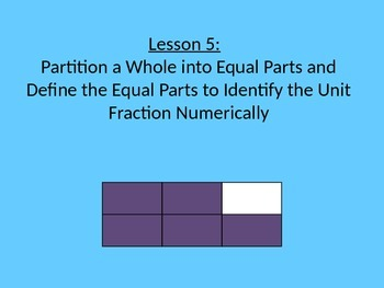 NYS Grade 3, Math Module 5, Topic B, Lessons 5-9 PowerPoint