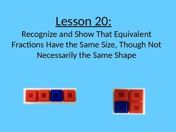 NYS Grade 3 Math Module 5, Topic E, Lessons 20-27 PowerPoint
