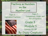 NYS Grade 3 Math Module 5 Topic E and F PowerPoints
