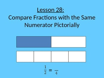 NYS Grade 3 Math Module 5, Topic F, Lessons 28-30 PowerPoint