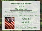 NYS Grade 3 Math Module 5 Topics A and B Flipcharts