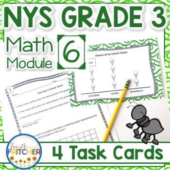 NYS Grade 3 Math Module 6 Task Cards