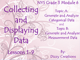 NYS Grade 3 Math Module 6 Topics A and B Flipcharts