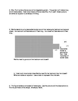 NYS Grade 3 Math Module 7 Review Sheets