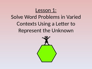 NYS Grade 3 Math Module 7, Topic A, Lessons 1-3