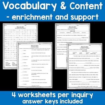 NYS Grade 3 Social Studies Inquiries BUNDLE