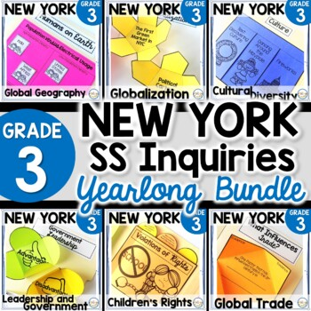 NYS Grade 3 SS Inquiries BUNDLE