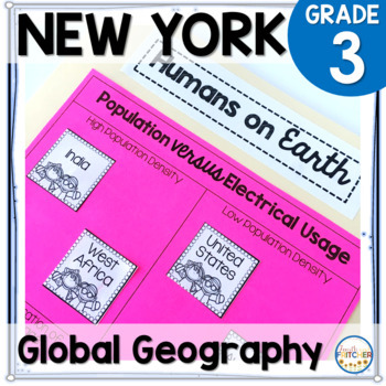 NYS Grade 3 Social Studies Inquiry: Global Geography