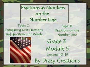 NYS Grade 3 Math Module 5 Topics C and D Flipcharts