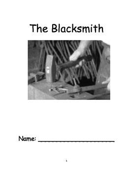 NYS Grade 4 ELA Module 2A Unit 2 - The Blacksmith