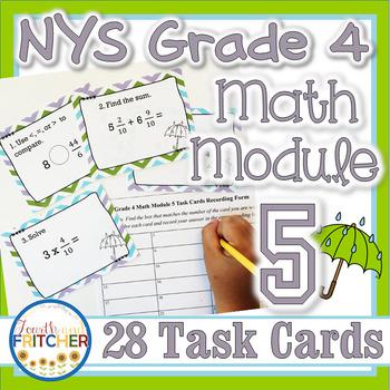 NYS Grade 4 Math Module 5 Task Cards