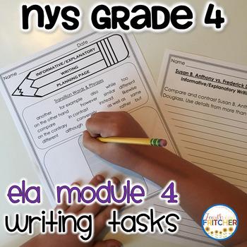 NYS Grade 4 ELA Module 4 Writing Tasks Pack