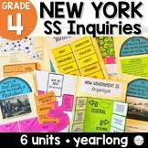 NYS Grade 4 Social Studies Inquiries BUNDLE