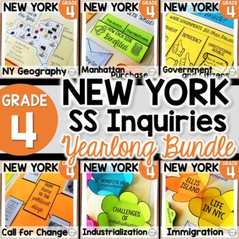 NYS Grade 4 SS Inquiries BUNDLE