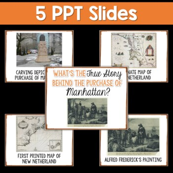NYS Grade 4 SS Inquiry: Manhattan Purchase