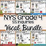 NYS Grade 4 Social Studies Inquiries Vocabulary Enrichment BUNDLE