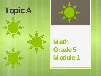 New York State Grade 5 Math Common Core Module 1 Topic A Lesson 1-4