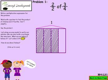 NYS Grade 5 Math Module 4 Topic F lessons  21-24