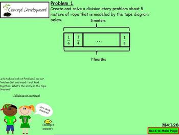 NYS Grade 5 Math Module 4 Topic G (Part 1) Lessons 25-28