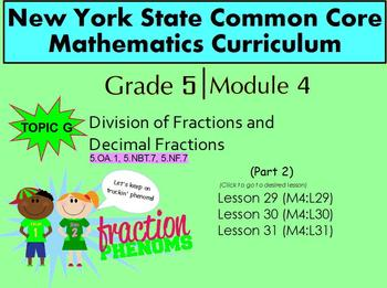 NYS Grade 5 Math Module 4 Topic G (Part 2)  Lessons 29-31