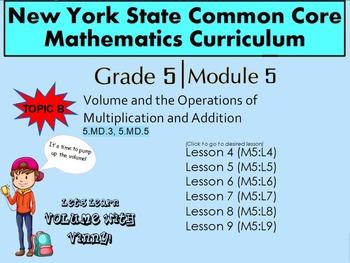 NYS Grade 5 Math Module 5 Topic B  Lessons 4-9