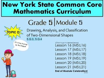 NYS Grade 5 Math Module 5 Topic D Lessons 16-21