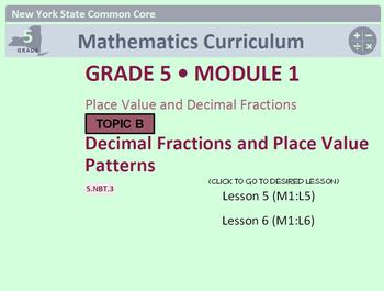 NYS Grade 5 Module 1 Topic B Lessons 5-6