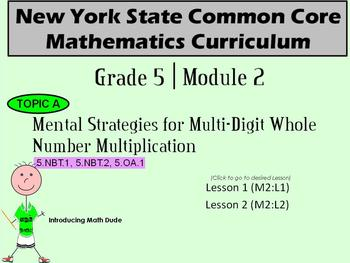 NYS Grade 5 Math Module 2 Topic A Lessons 1-2