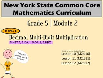 NYS Grade 5 Math Module 2 Topic C Lessons 10-12