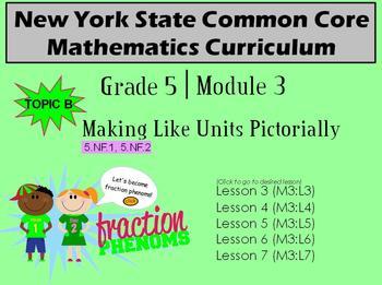 NYS Grade 5 Math Module 3 Topic B Lessons 3-7
