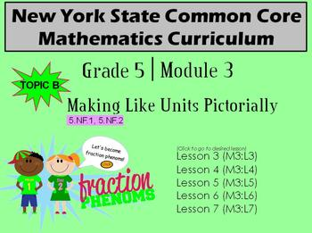 NYS Grade 5 Math Module 3 Topic B Lessons 3-7