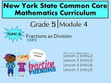 NYS Grade 5 Math Module 4 Topic B Lessons 2-5