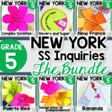 NYS Grade 5 Social Studies Inquiries BUNDLE