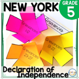 NYS Grade 5 Social Studies Inquiry: Declaration of Independence