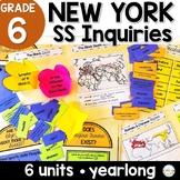NYS Grade 6 Social Studies Inquiries BUNDLE