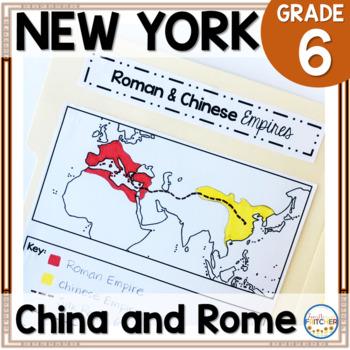 NYS Grade 6 Social Studies Inquiry: China and Rome