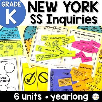 NYS Kindergarten SS Inquiries BUNDLE