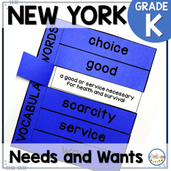 NYS Kindergarten Social Studies Inquiry: Needs and Wants